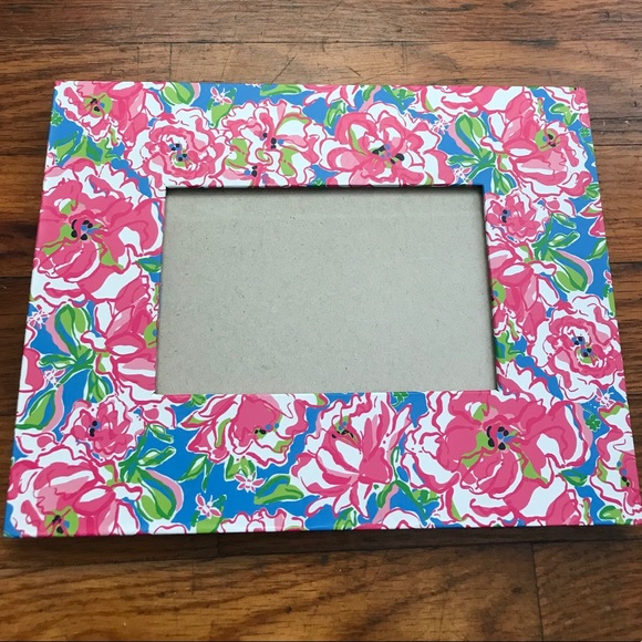 Lilly Pulitzer Floral Picture Frame- Lucky Charms